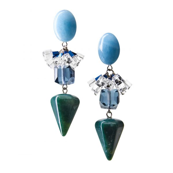 Golovina accessories gemstone jewellery gigi earrings