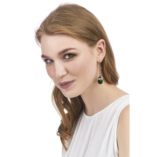 Golovina accessories gemstone jewellery isabel earrings