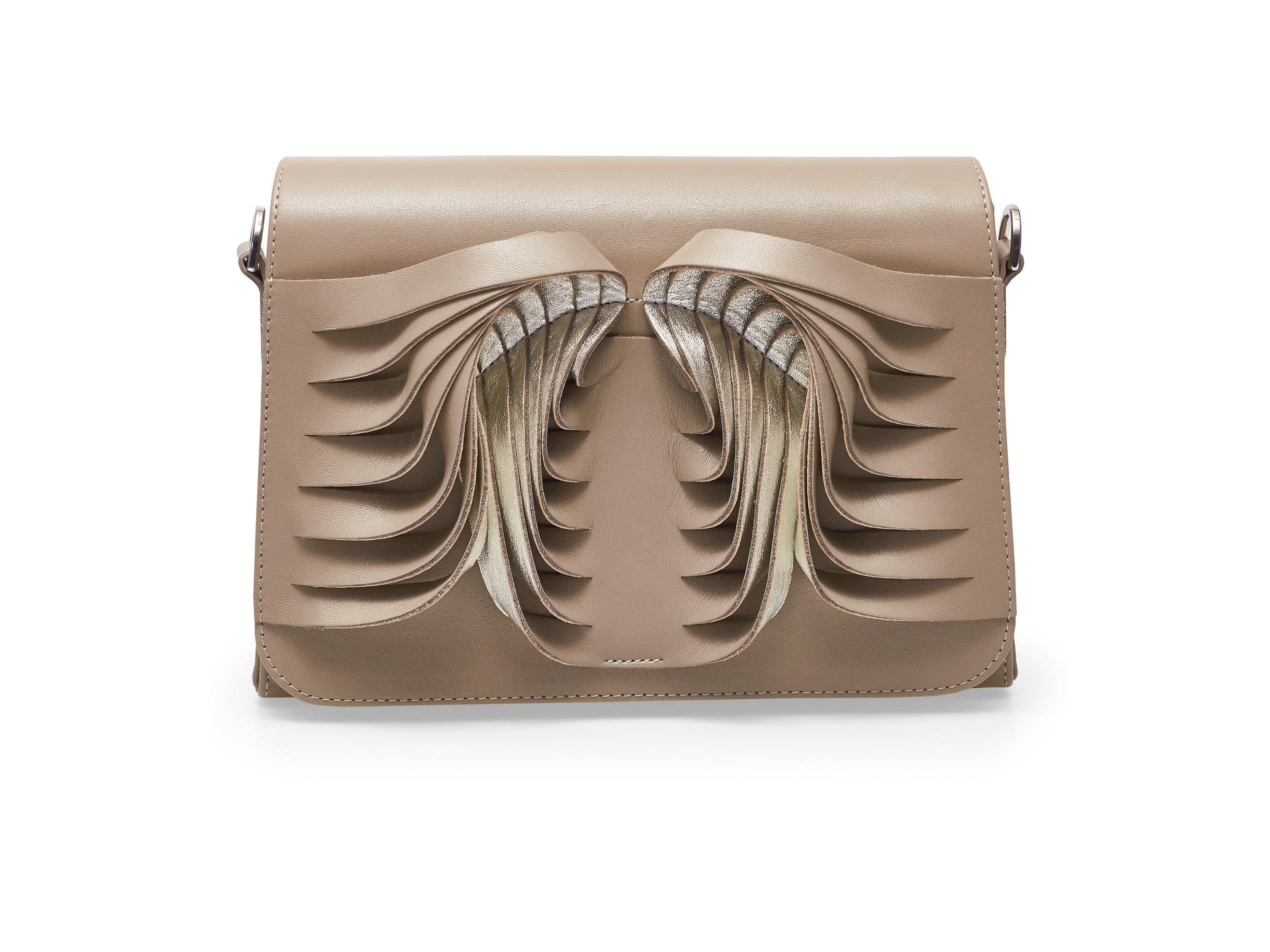 Angel Wings Beige & Silver