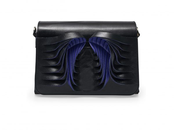 Golovina Angel Wings bag black and navy