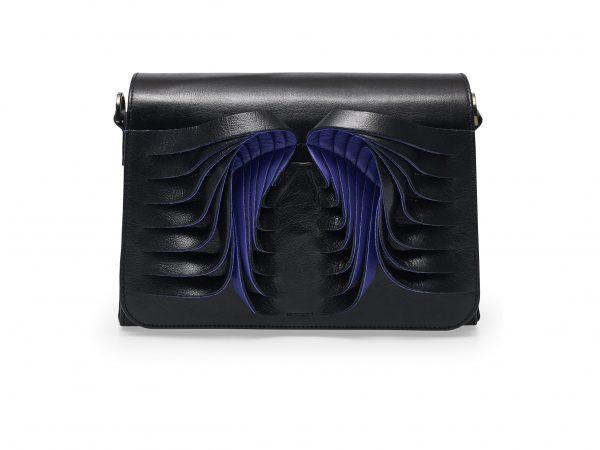 Golovina Angel Wings bag black and navy