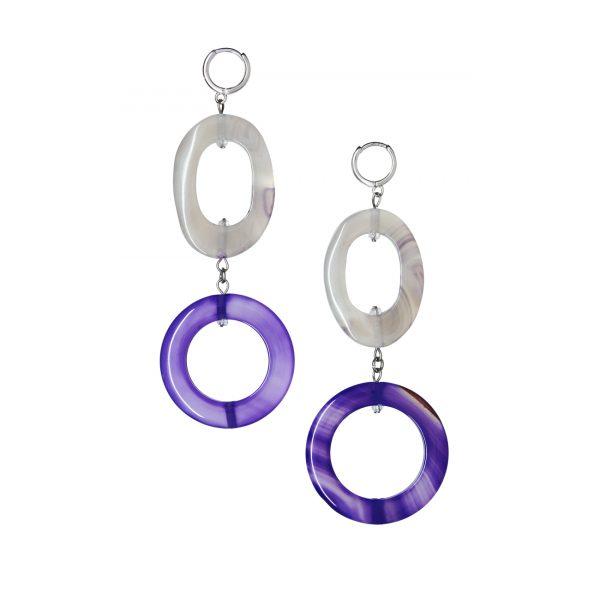 Golovina accessories ювелирная бижутерия серьги Gwyneth из натуральных камней