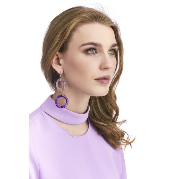 Golovina accessories gemstone jewellery gwyneth earrings
