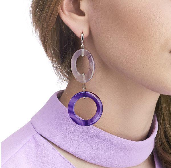 Golovina accessories gemstone jewellery gwyneth earrings