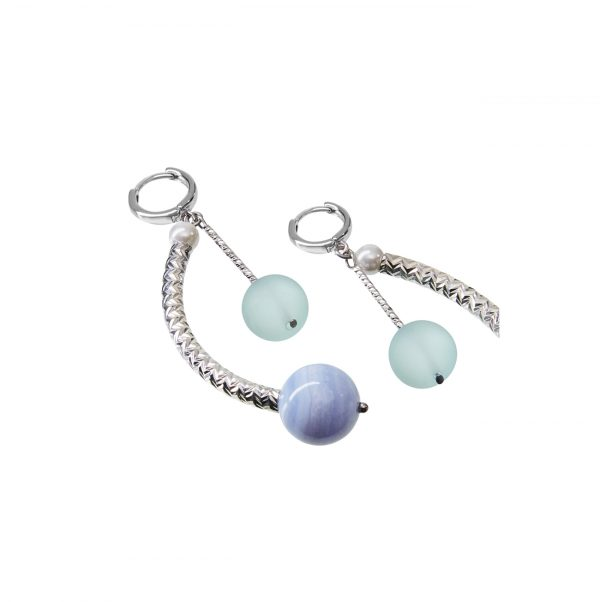 Golovina accessories gemstone jewellery ameli earrings