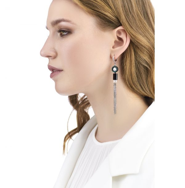 Golovina accessories gemstone jewellery amy earrings