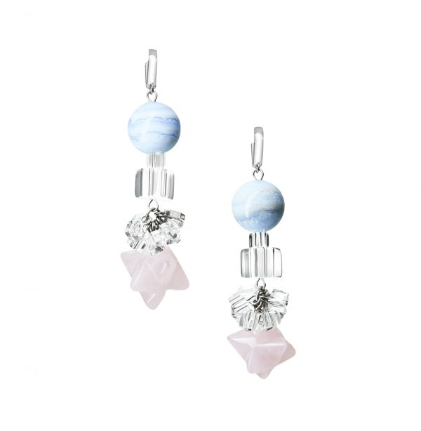 Golovina accessories gemstone jewellery angel earrings
