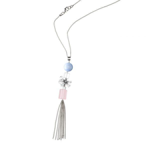 Golovina accessories ювелирная бижутерия колье Angel из натуральных камней