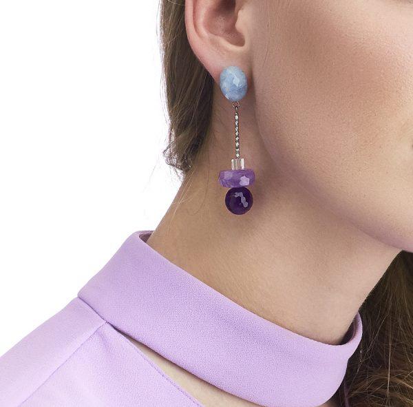 Golovina accessories gemstone jewellery anita earrings