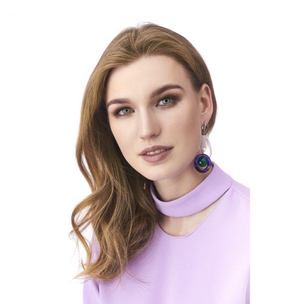 Golovina accessories gemstone jewellery audrey earrings