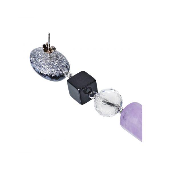 Golovina accessories ювелирная бижутерия серьги celestia из натуральных камней