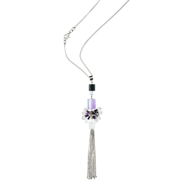 Golovina accessories gemstone jewellery celestia necklace