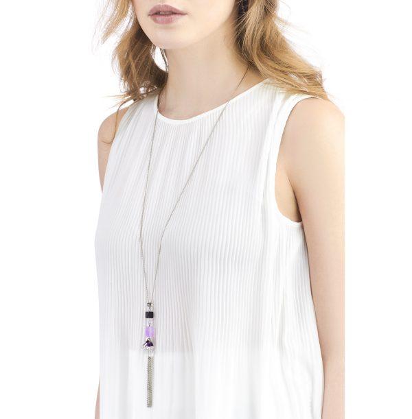 Golovina accessories gemstone jewellery celestia necklace