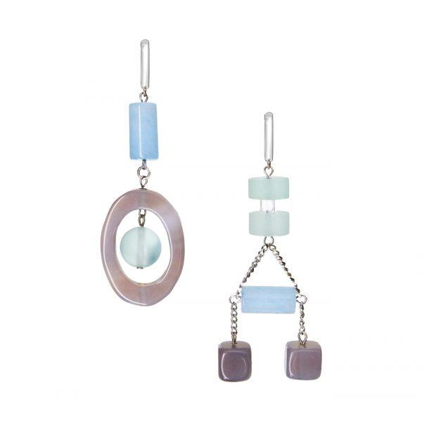 Golovina accessories gemstone jewellery celia earrings