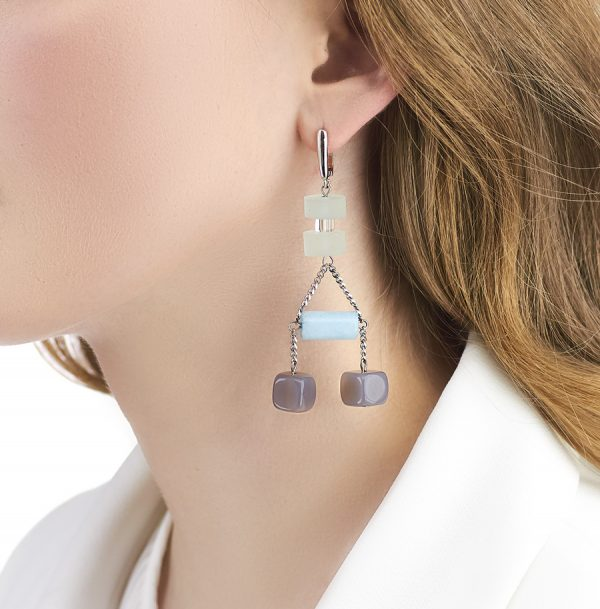 Golovina accessories gemstone jewellery celia earrings