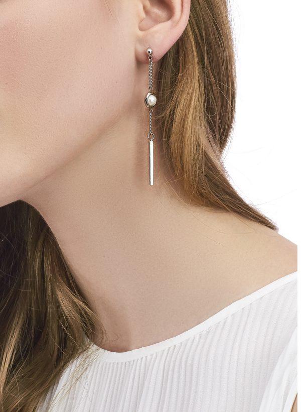 Golovina accessories ювелирная бижутерия серьги Celine из натуральных камней