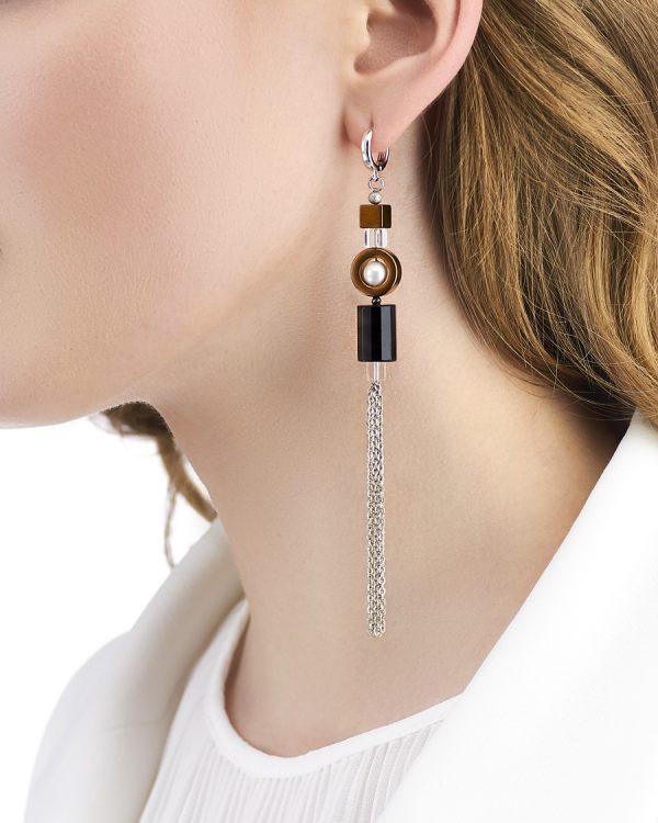 Golovina accessories ювелирная бижутерия серьги Christen из натуральных камней