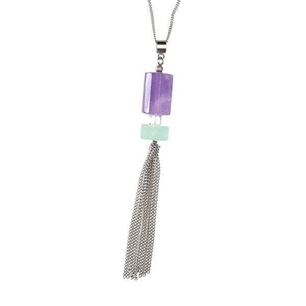 Golovina accessories gemstone jewellery eileen necklace