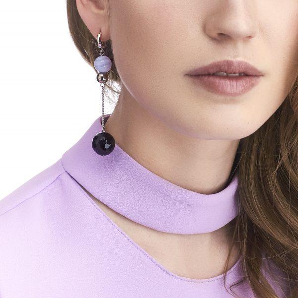 Golovina accessories ювелирная бижутерия серьги Emma из натуральных камней