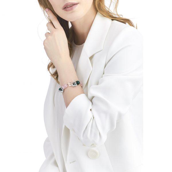 Golovina accessories ювелирная бижутерия браслет Gia из натуральных камней