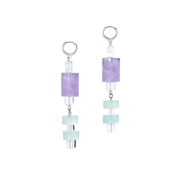 Golovina accessories gemstone jewellery giselle earrings
