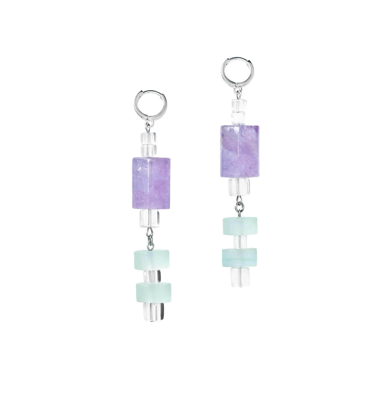 Golovina accessories ювелирная бижутерия серьги Giselle из натуральных камней