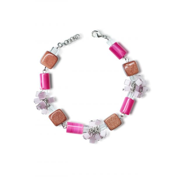 Golovina accessories gemstone jewellery rosaleen bracelet