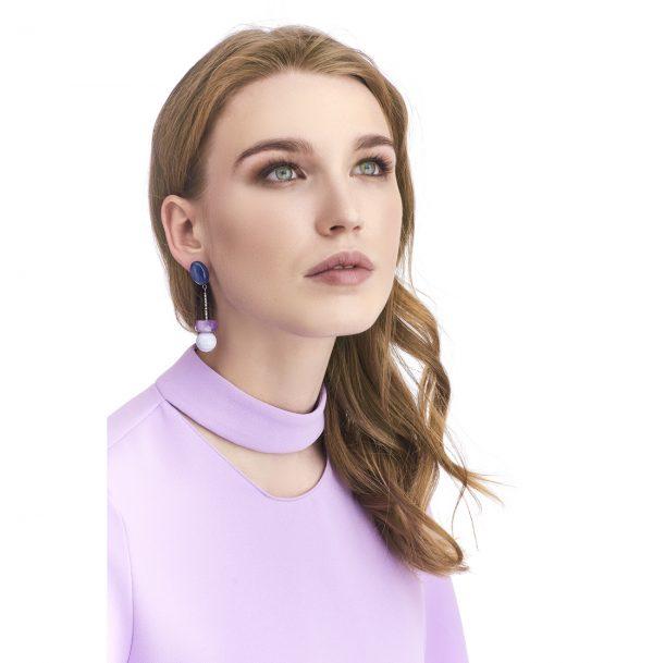 Golovina accessories gemstone jewellery scarlett earrings