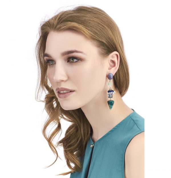 Golovina accessories gemstone jewellery selena earrings