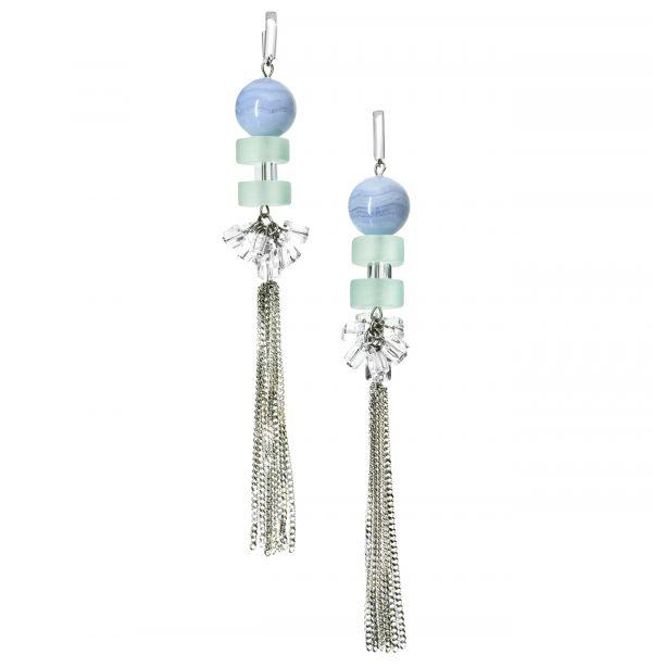Golovina accessories ювелирная бижутерия серьги Seraphina из натуральных камней