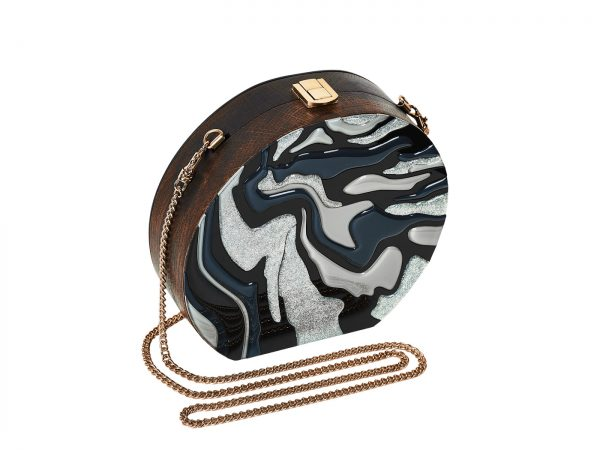 Golovina-marble-clutch-bag-black-and-grey-3