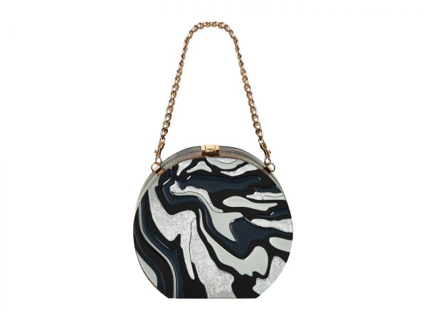 Golovina-marble-clutch-bag-black-and-grey-4