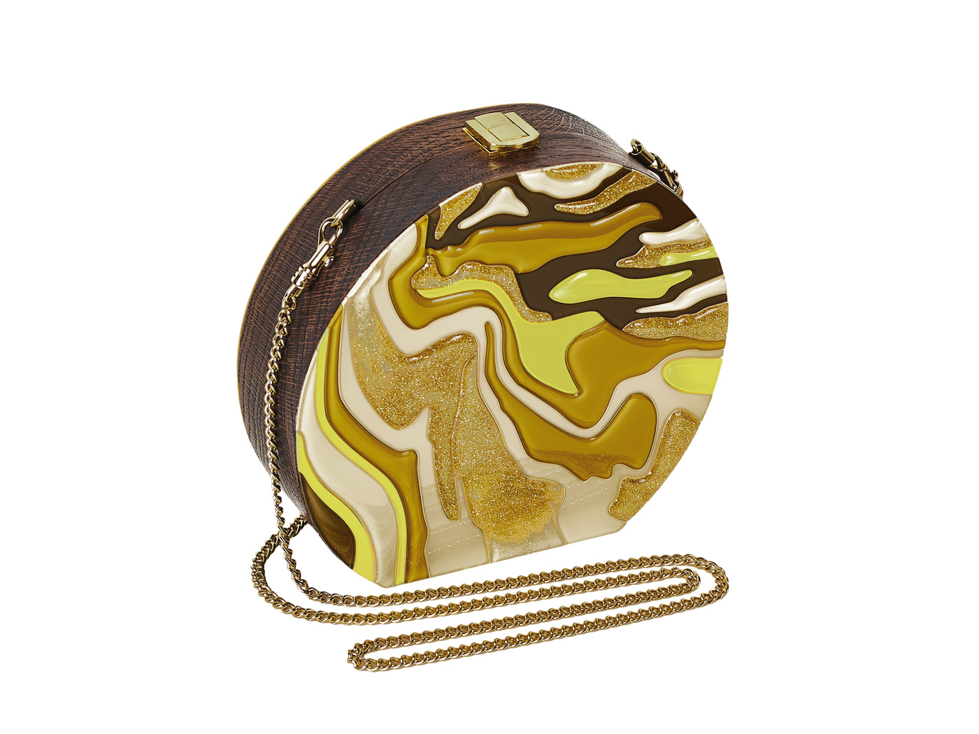 Golovina-marble-clutch-bag-mustard-and-yellow-3