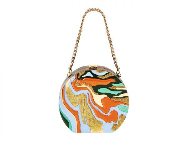 Golovina-marble-clutch-bag-orange-and-blue-4