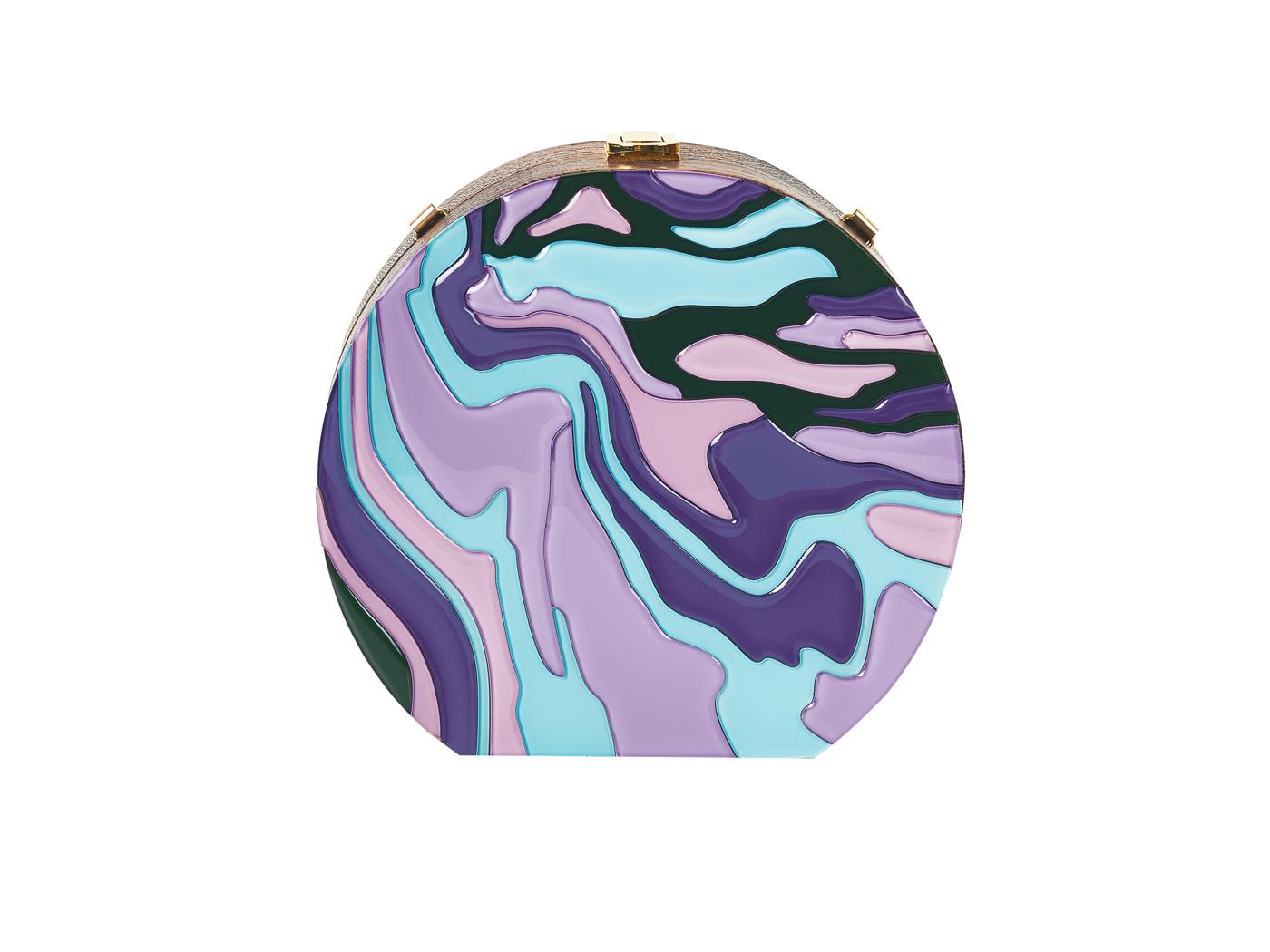 Golovina-marble-clutch-bag-violet-and-blue-1
