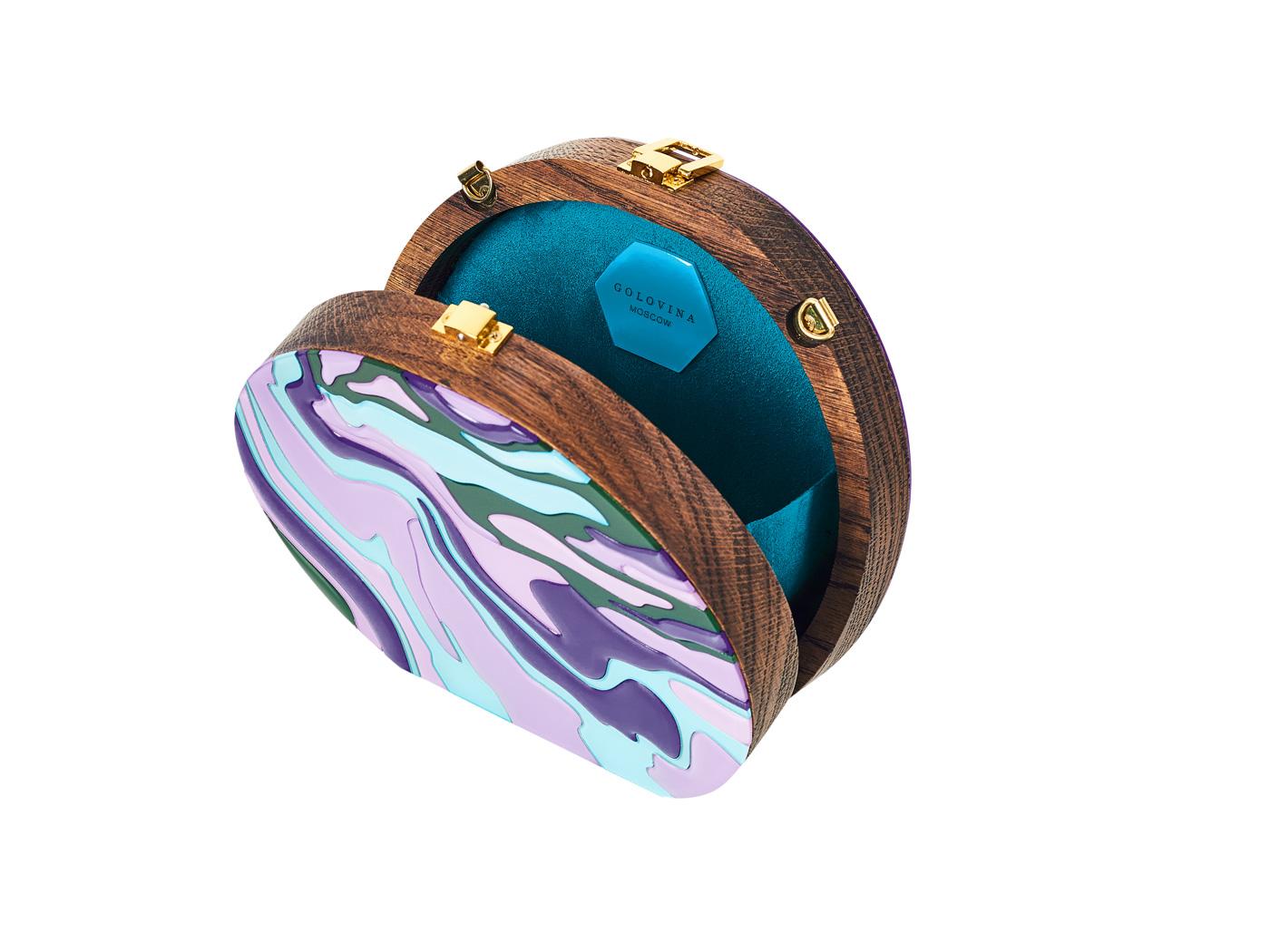 Golovina-marble-clutch-bag-violet-and-blue-5